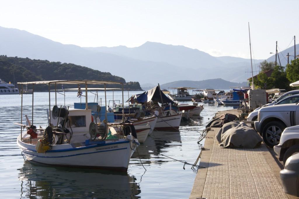 Port Vathi, Meganisi, Greece