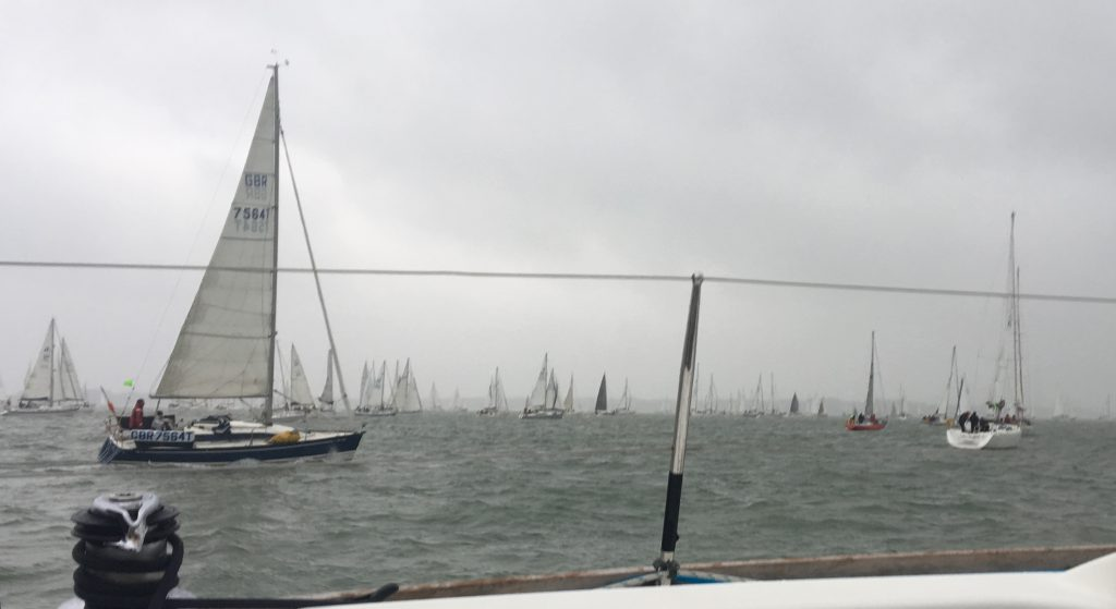 leg 1 of the round the island race